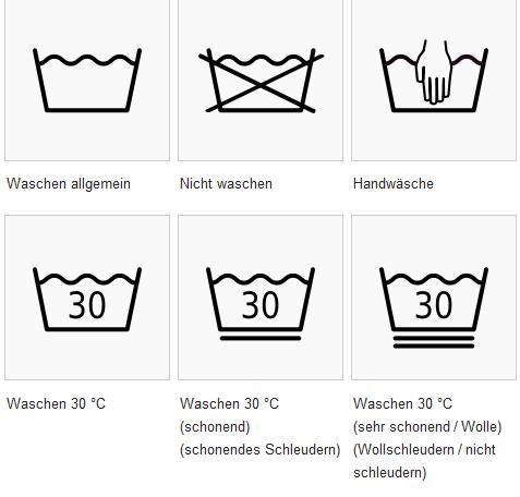 waschzeichen